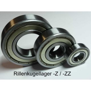 Rillenkugellager B15-48D (15x42x15 mm) - PFI