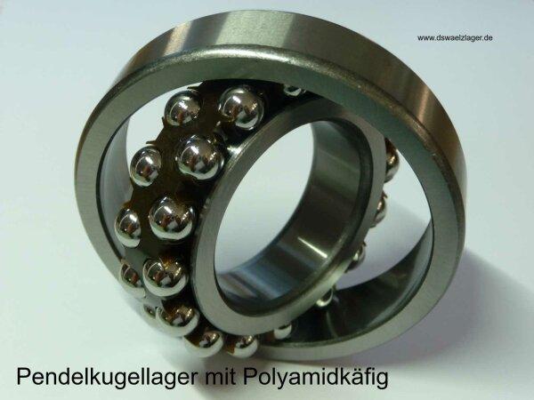 Pendelkugellager 2308-2RS.TVH - FAG   - beidseitig Dichtscheiben, Polyamidkäfig  ( 40x90x33mm )
