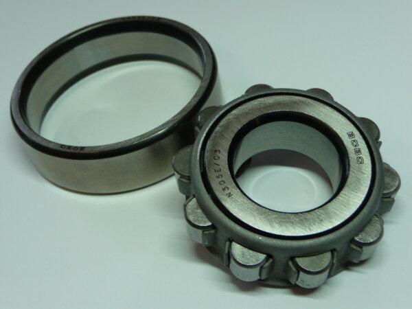 Zylinderrollenlager N204/C3 - BoBo   - Stahlkäfig   ( 20x47x14mm )