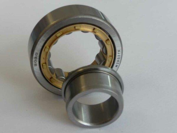 Zylinderrollenlager NJ207E-M - Messingkäfig ( 35x72x17mm )