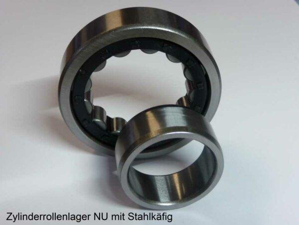 Zylinderrollenlager NU206E/C3 - MTK  ( Stahlkäfig )