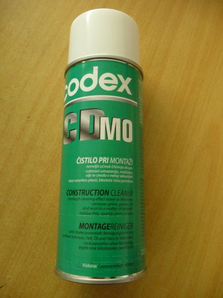 Montagereiniger CDMO, 400ml - Codex