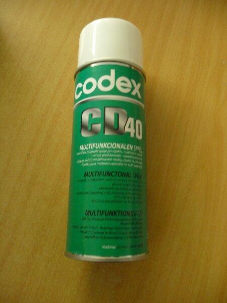 Multifunktionsspray CD40, 400ml - Codex