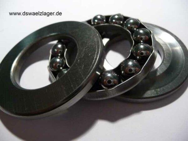 Axial-Rillenkugellager 51103   ( 17x30x9mm )