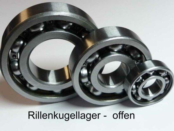 Rillenkugellager 98304 - offene Ausführung  ( 20x52x10mm )