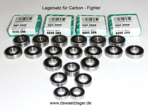 Lagersatz für Carbon-Fighter