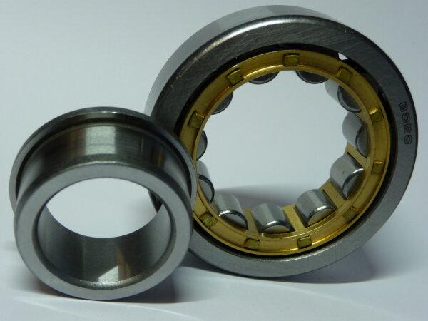 Zylinderrollenlager NJ305.E-M - Messingkäfig  ( 25x62x17mm )