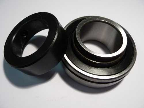 Spannlager 16204 (SA204-G)   - Dichtscheiben, 20x47x21,5mm