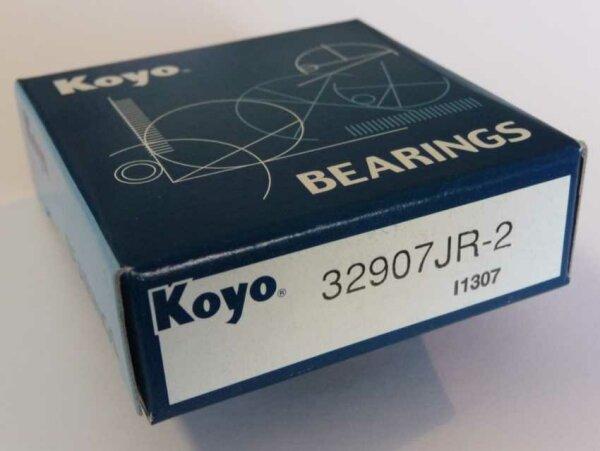 Kegelrollenlager 32907.JR-2 - Koyo/Japan    ( 35x55x14mm )