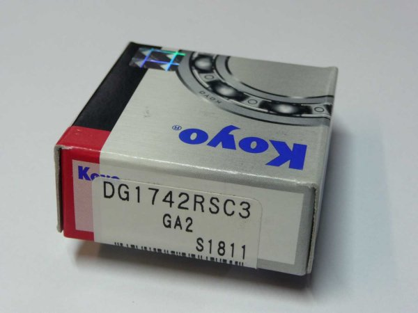 Radlager DG 1742-RS/C3 - KOYO   ( 17x42x13mm )
