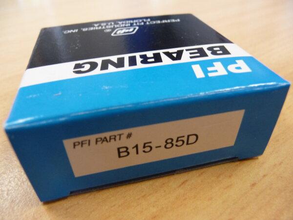 Rillenkugellager B15-85D - PFI - beidseitig Dichtscheiben ( 15x40x14mm )