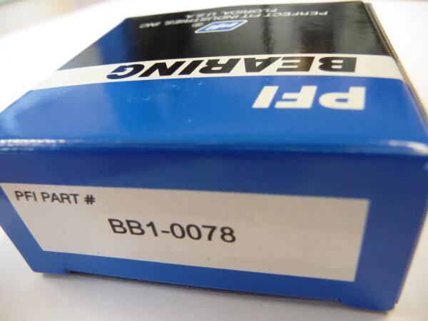Rillenkugellager BB1-0078 - PFI - synthetic-retainer, beidseitig Dichtscheiben ( 22x52x15mm )