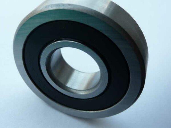Laufrolle LR201-NPPU (-2RS)  - beidseitig Dichtscheiben  ( 12x35x10mm )