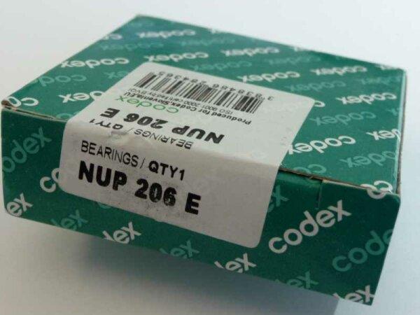 Zylinderrollenlager NUP206.E - Codex