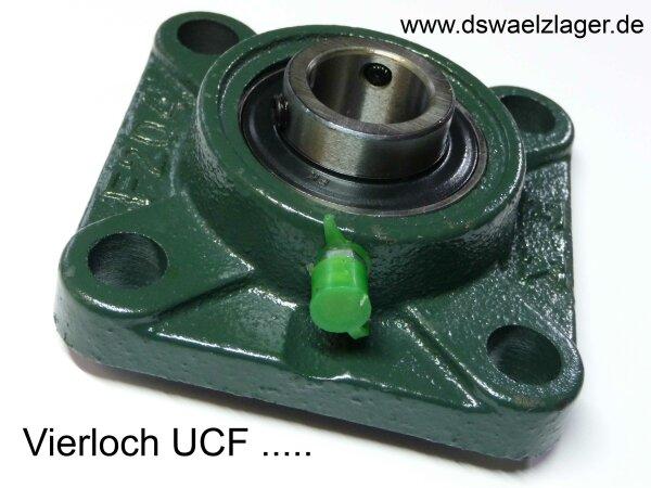 Gehäuselager UCF208   - für 40er-Welle