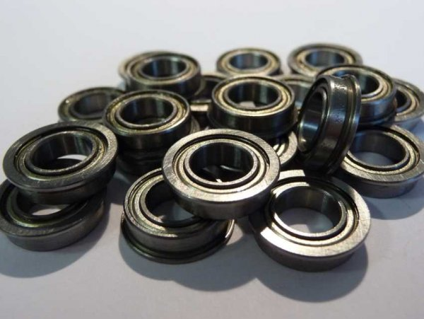Miniaturlager mit Bund F602-ZZ   ( 2x7x3,5mm )