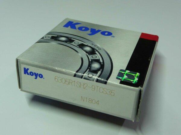 Automotive / Rillenkugellager 6305-R1SH2-9TCS35 - KOYO - offene Ausführung ( 25x62x16mm )