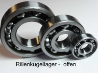 Automotive-Bearing / Rillenkugellager 6205.EX2...