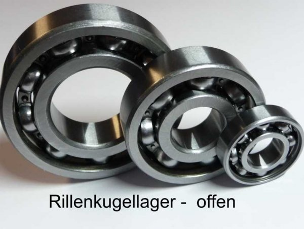 Rillenkugellager 98204 - offene Ausführung ( 20x42x9mm )
