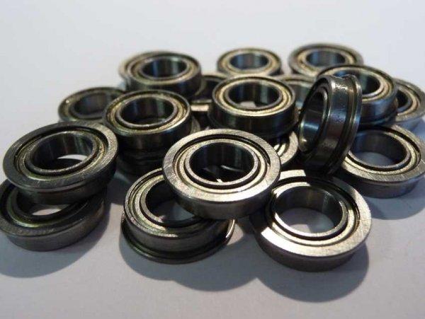 Miniaturlager mit Bund F688-ZZ - beidseitig Stahldeckscheiben ( 8x16x5mm )