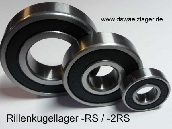 Rillenkugellager 61804-2RS1 - SKF   ( 20x32x7mm )  Einzelverpackung